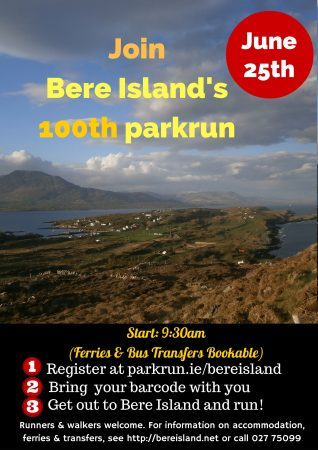 Bere Island 100th parkrun
