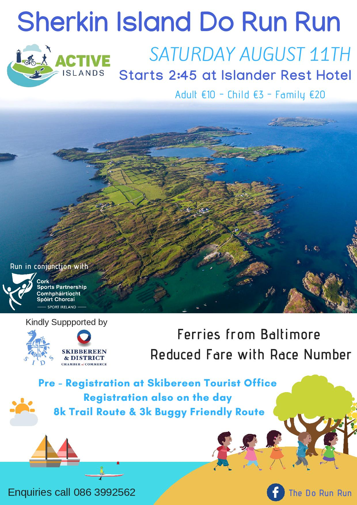 Sherkin Do Run Run – Get Active on Sherkin Island!