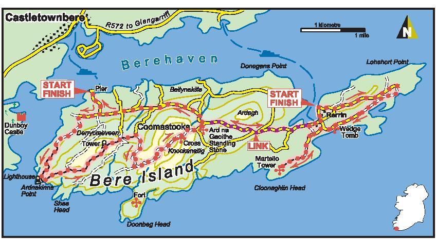 Ardnakinna Loop Walk – Bere Island [West]