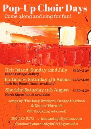 Pop-Up Choir on Heir Island @ County Cork | Ireland