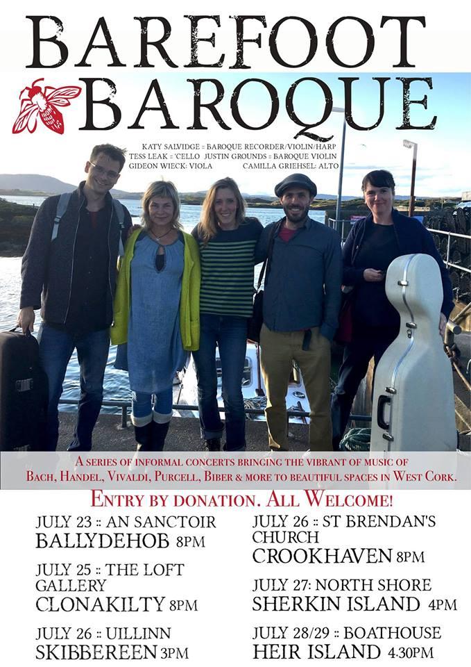 Barefoot Baroque on Sherkin Island