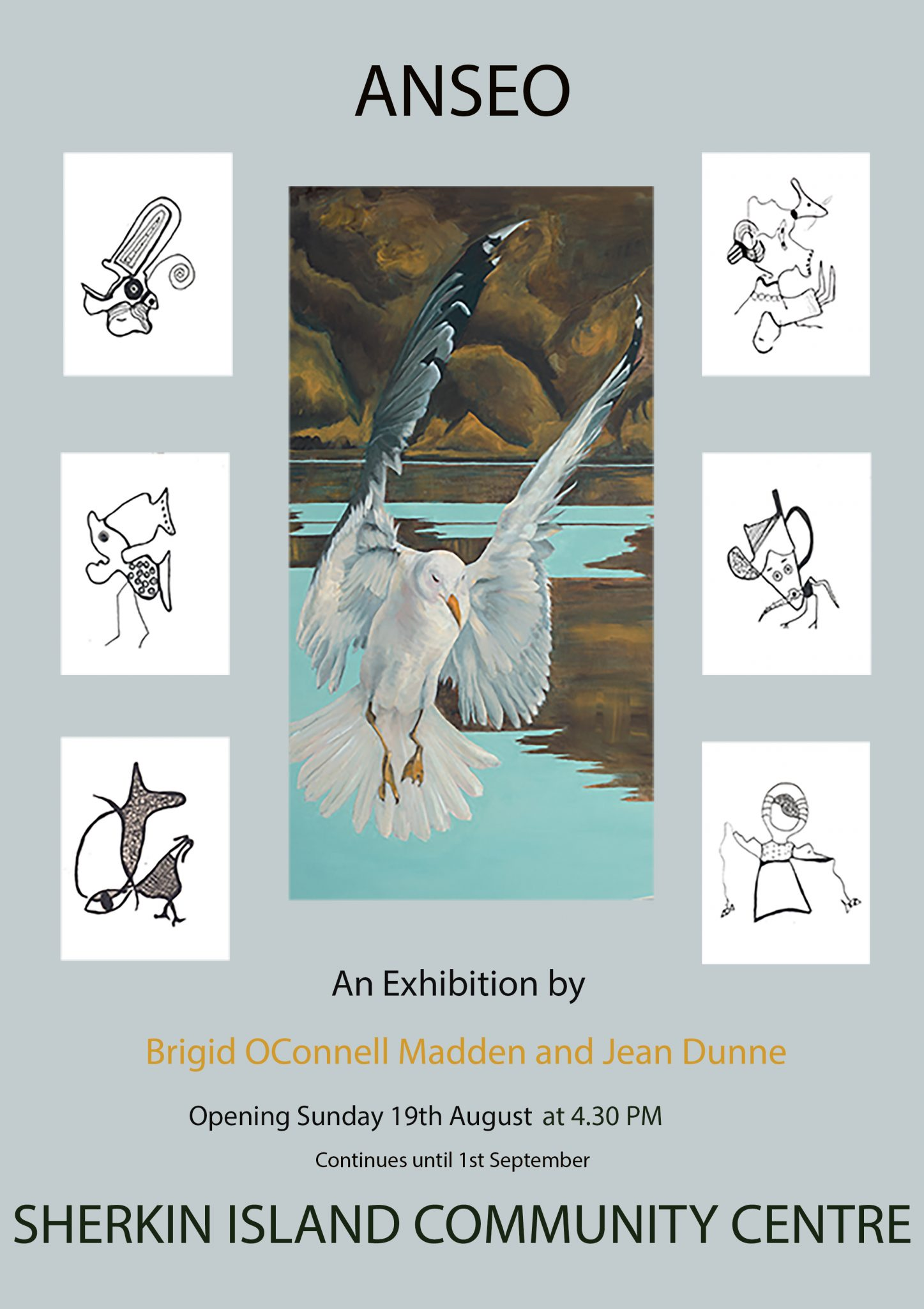 Anseo – An Exhibition by Brigid O'Connell Madden and Jean Dunne