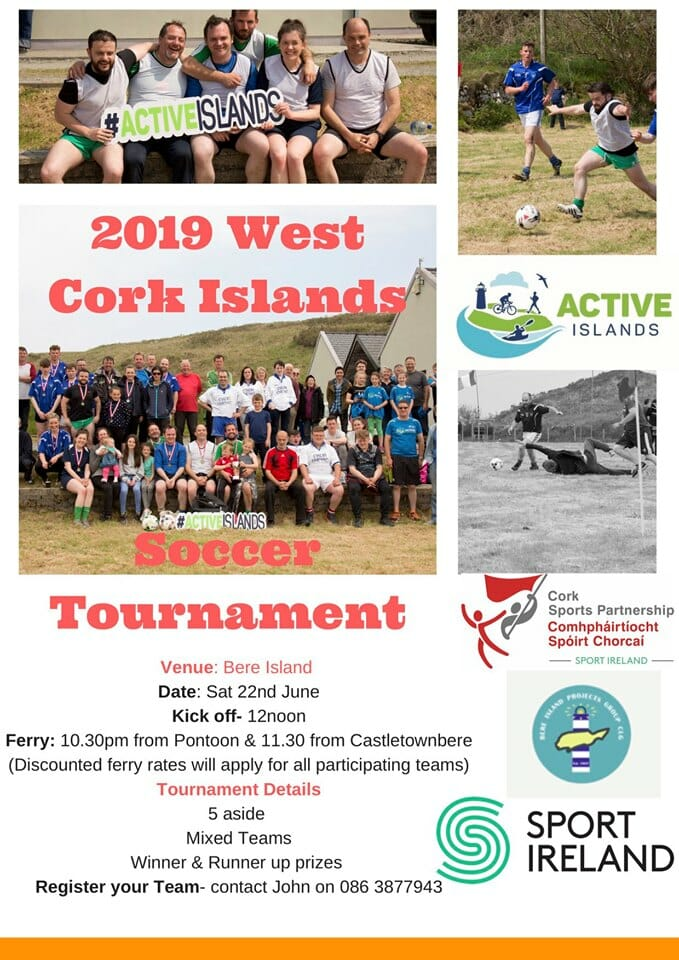 West Cork Islands Soccer Tournament 2019 @ Bere Island