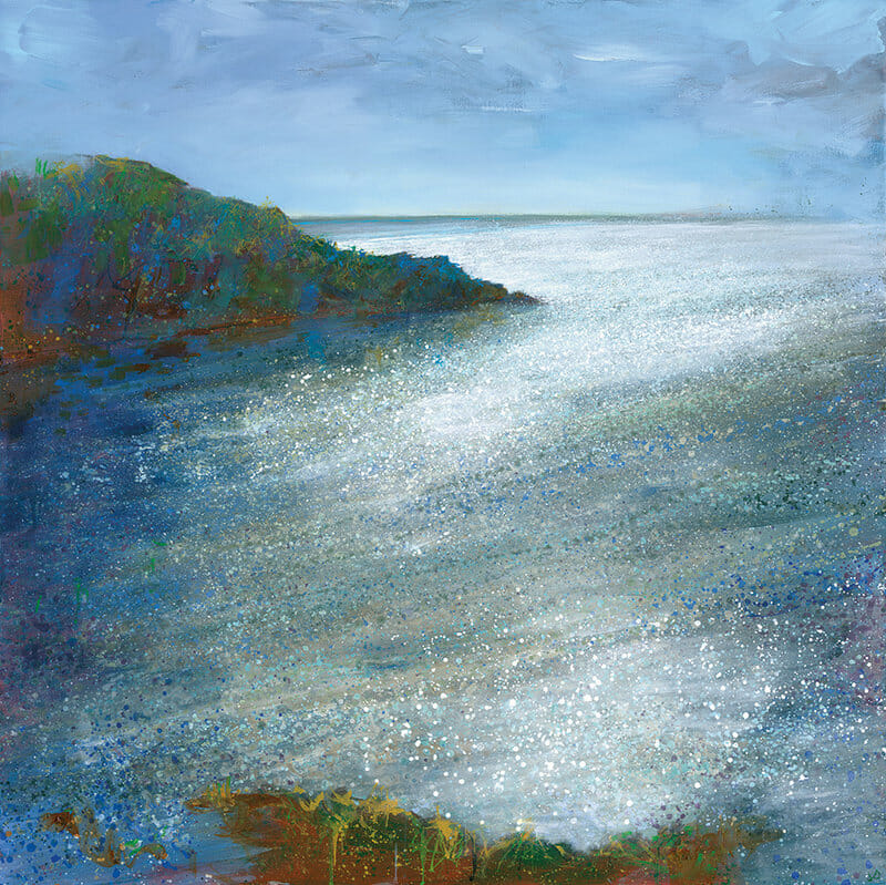 Sea painting by Jo Ashby