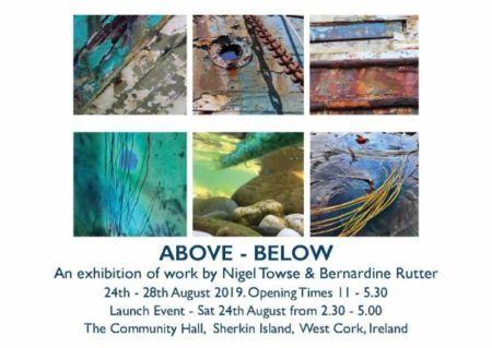 Above – Below @ Sherkin Island Community Hall